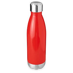 Borraccia termica sottovuoto personalizzabile Arsenal, Acciaio inox, Capacità 510 ml, Rosso