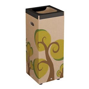 Bosco Cestino in cartone, 28 x 28 x 70 cm, Capacità 60 l