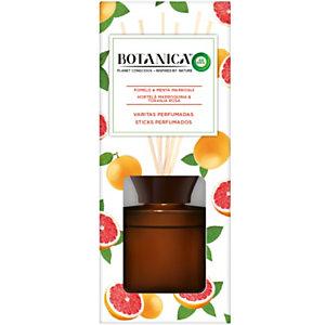 BOTANICA ambientador varitas perfumadas Pomelo & Menta Marroquí envase 80 ml