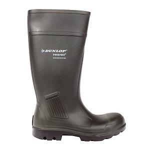 Bottes de sécurité Dunlop Confort polyuréthane, pointure 43