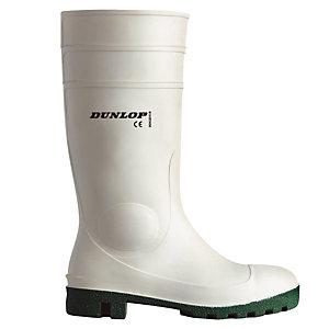 Bottes de sécurité PVC milieu agroalimentaire Hygrade Safety Dunlop, pointure 41