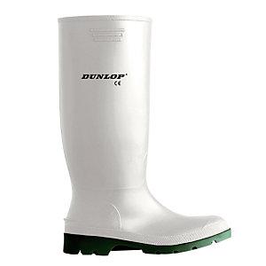 Bottes de travail PVC milieu agroalimentaire Hygrade Dunlop, pointure 38