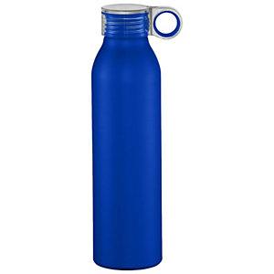 Bottiglia personalizzabile Grom Sport in alluminio, Capacità 650 ml, Royal Blu