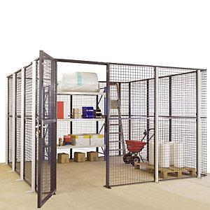 Box met gaasrooster 15m²