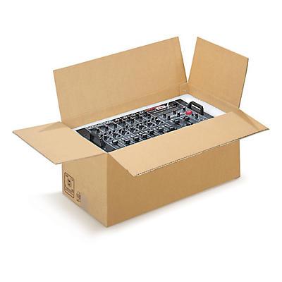 Caisse double cannelure pour colis lourds palettisable##Braune, palettierfähige Schwerlastkartons RAJA, 2-wellig