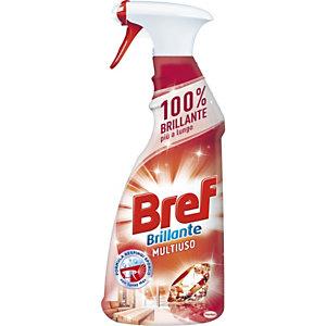 BREF Detergente multiuso Professional, Flacone spray 750 ml