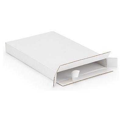 Brevpack med öppning på kortsida och självhäftande stängning höjd 25 mm