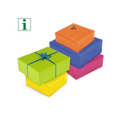 Bright Kraft paper gift wrap