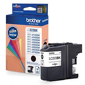 BROTHER Cartouche d'encre Innobella™ LC223 N, LC-223BK (Pack de 1), Noir