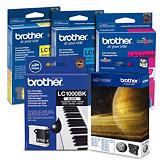 Brother Cartuccia inkjet LC1000, LC-1000VALBP, Inchiostro Innobella, Nero, Ciano, Giallo, Magenta, Value Pack