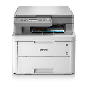 Brother DCP, L3510CDW, Impresora Multifunción Láser Color, Soporta LAN inalámbrico, A4 (210 x 297 mm)