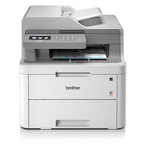 Brother DCP, L3550CDW, Impresora Multifunción Láser Color, Soporta LAN inalámbrico, A4 (210 x 297 mm)