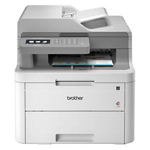 Brother DCP-L3550CDW Stampante multifunzione laser a colori, Wi-Fi, A4