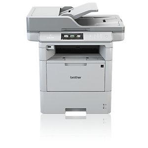 Brother DCP-L6600DW, Laser, 1200 x 1200 DPI, 520 hojas, A4, Impresión directa, Gris
