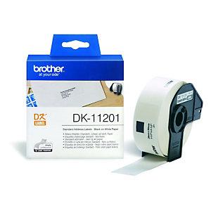 Brother DK-11201 etiquetas de dirección - 90 x 29 mm.