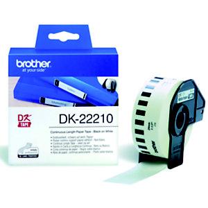 Brother DK-22210 cinta continua blanca - 29 mm. x 30,48 m.