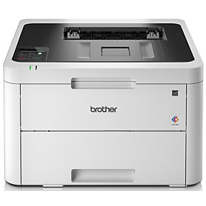 Brother HL, L3230CDW, Impresora Láser Color, Soporta LAN inalámbrico, A4 (210 x 297 mm)
