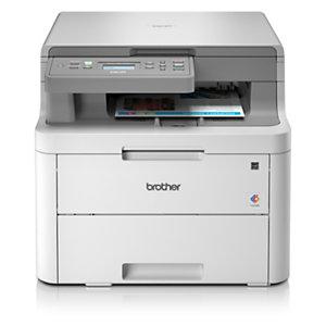 Brother Imprimante multifonction laser couleur, DCP-L3510CDW, A4, Compatible réseau sans fil