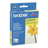 Brother LC970 Y, LC-970Y, Cartucho de Tinta, Innobella™, Amarillo