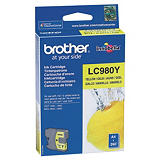 Brother LC980 Y, LC-980Y, Cartucho de Tinta, Innobella™, Amarillo