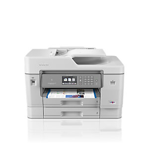 Brother MFC-J6945DW, Inyección de tinta, 1200 x 4800 DPI, 500 hojas, A3, Impresión directa, Gris