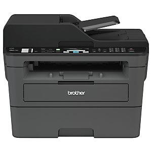 Brother MFC, L2710DW, Impresora Multifunción Láser Monocromo, Soporta LAN inalámbrico, A4 (210 x 297 mm)