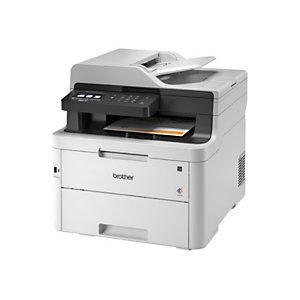 Brother MFC, L3750CDW, Impresora Multifunción Láser Color, Soporta LAN inalámbrico, A4 (210 x 297 mm)