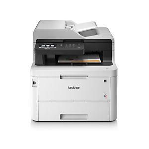 Brother MFC-L3770CDW, LED, 2400 x 600 DPI, 250 hojas, A4, Impresión directa, Negro, Blanco