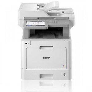 Brother MFC-L9570CDW, Laser, 2400 x 600 DPI, 250 hojas, A4, Impresión directa, Blanco
