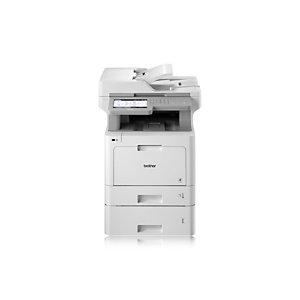Brother MFC-L9570CDWT, Laser, 2400 x 600 DPI, 250 hojas, A4, Impresión directa, Blanco