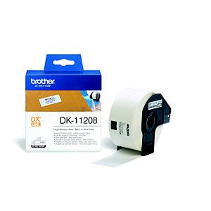 Brother ouleaux d'étiquettes Brother - Adressage - Modèles DK11208 - pour imprimante QL - 800 étiquettes