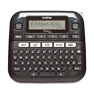 Brother P-touch D210 Etichettatrice elettronica, Nero