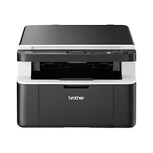 Brother Pack Imprimante multifonction laser monochrome, DCP-1612W + 5 toners + garantie 3 ans