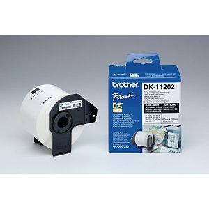 Brother Rouleaux d'étiquettes Brother - Expédition - Modèles DK11202  - pour imprimante QL - 300 étiquettes