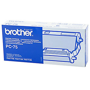 Brother Ruban encreur, PC-75, noir