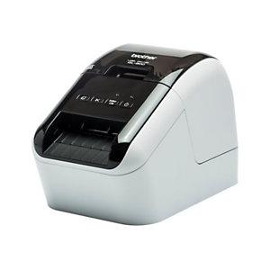 Brother Stampante per etichette QL-800, USB 2.0, Bianco e nero gloss