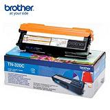 Brother Toner originale TN-320C, Ciano, Pacco singolo