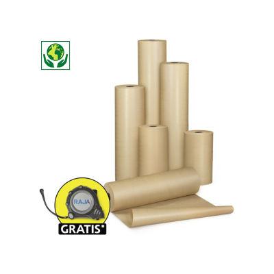 Bruin pakpapier op rol, standaard kwaliteit 70 g/m²