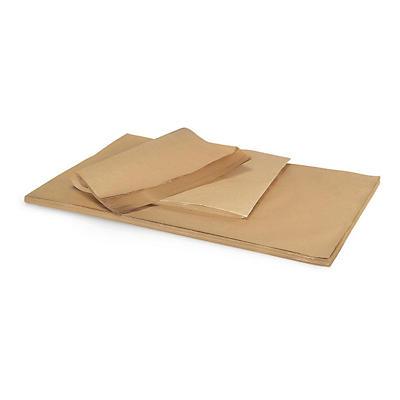 Bruin pakpapier per vel