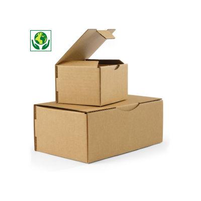 Boîte postale en carton brune Rajapost##Bruine postdoos Rajapost