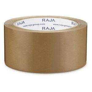 Bruine PVC-tape 32 micron 50mm x 100m, per set van 36 rollen