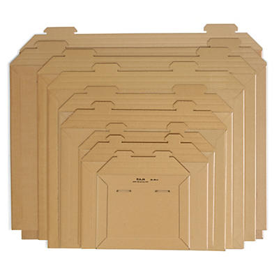 Brune pappkonvolutter
