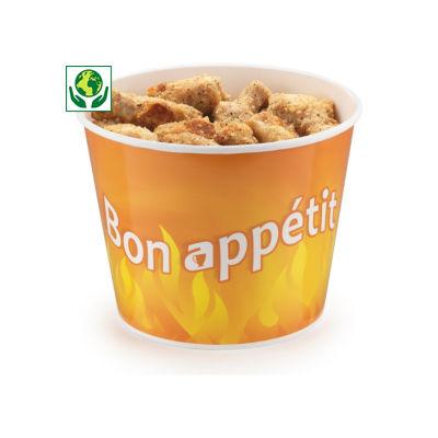 Bucket poulet carton