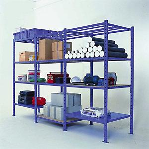 Buisvormige plank RAL 5015 1m x 500 mm