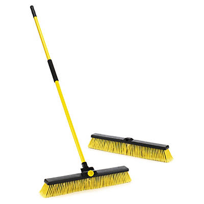 Bulldozer heavy duty broom
