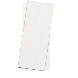 Busta porta posate con tovagliolo doppio velo, Bianco (confezione 1.000 pezzi)