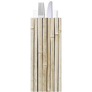 Busta porta posate in carta politenata con tovagliolo doppio velo, Design Koala (confezione 1.000 pezzi)
