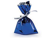 Busta regalo metallizzata senza chiusura adesiva colori assortiti