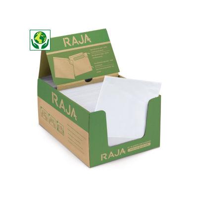 Buste portadocumenti adesive ecologiche trasparenti RAJA