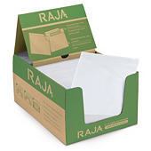 Buste portadocumenti adesive ecologiche trasparenti RAJALIST green